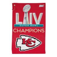 Kansas City Chiefs Super Bowl LIV Champions NFL Tailgate Handtuch