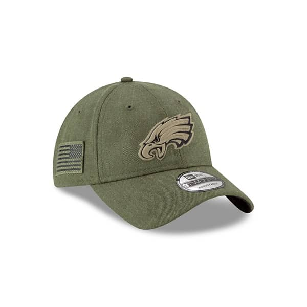 79741daec2edce ... super bowl lii side patch sideline 59fifty fitted hat 28f44 ce896;  shopping philadelphia eagles 2018 salute to service 9twenty nfl cap 013bd  694fb