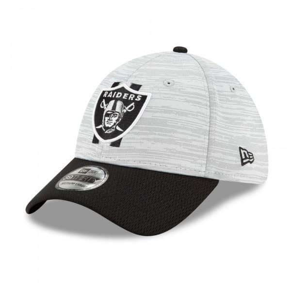 Las Vegas Raiders 2021 NFL Offical Training New Era 39THIRTY Flex Fit Cap
