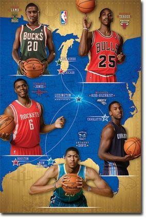 NBA Rookies 2012-13 Basketball Poster RP5953