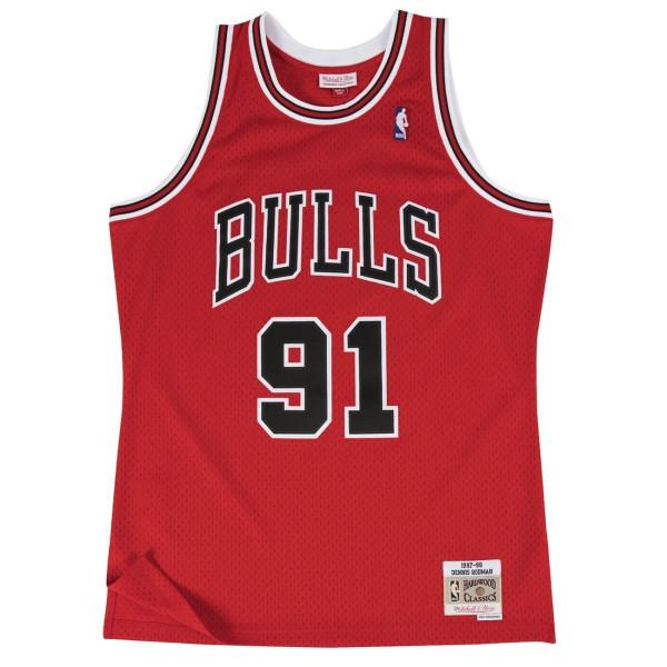 Dennis Rodman #91 Chicago Bulls 1997-98 Swingman NBA Trikot