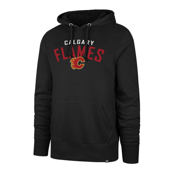 Calgary Flames Outrush Headline NHL Hoodie