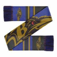 Baltimore Ravens Colorblock Big Logo NFL Schal