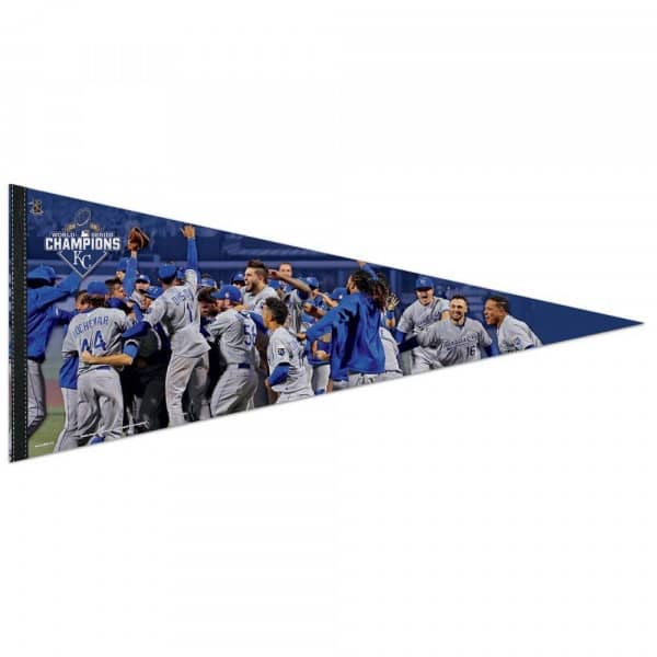 Kansas City Royals 2015 World Series Champions Premium MLB Wimpel (42 x 100 cm)