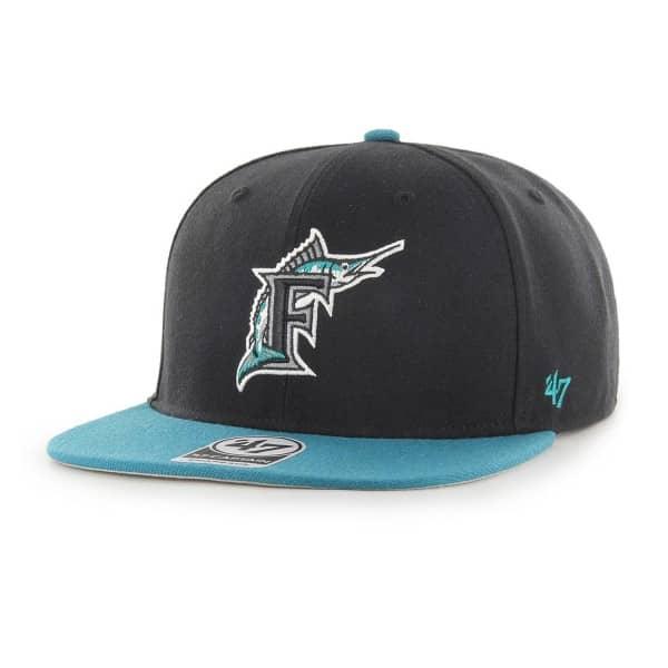 Florida Marlins No Shot Captain Snapback MLB Cap