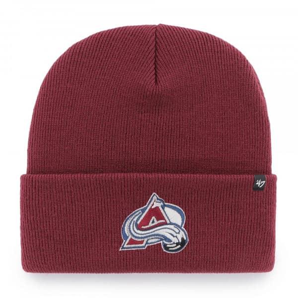 Colorado Avalanche '47 Haymaker NHL Beanie Wintermütze Rot