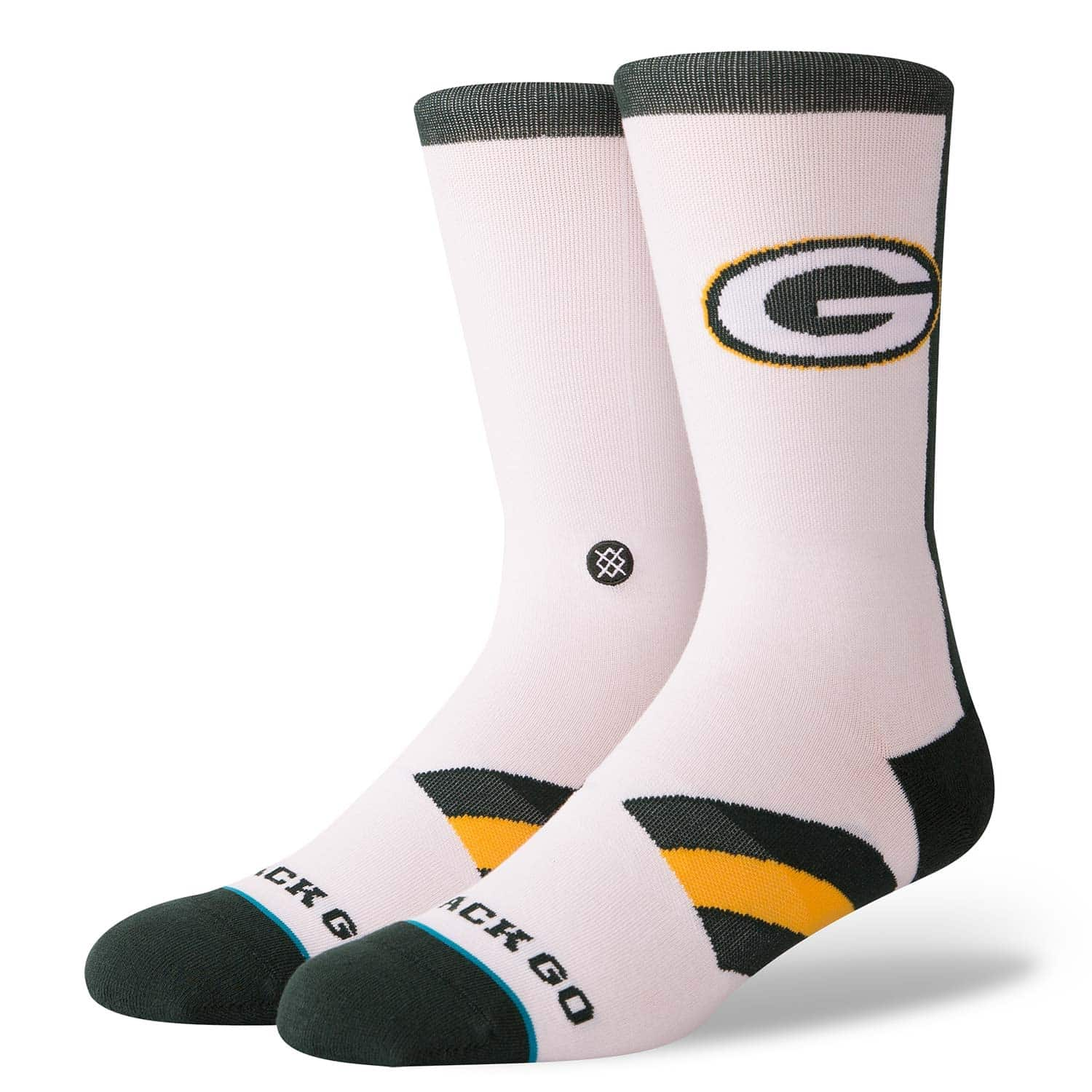 pretty nice ca2bf 89ee7 Green Bay Packers Color Rush NFL Socks