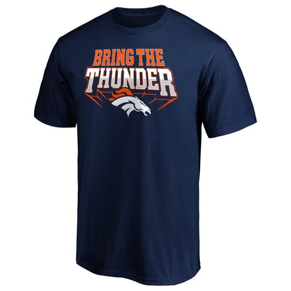 Denver Broncos Bring The Thunder NFL T-Shirt