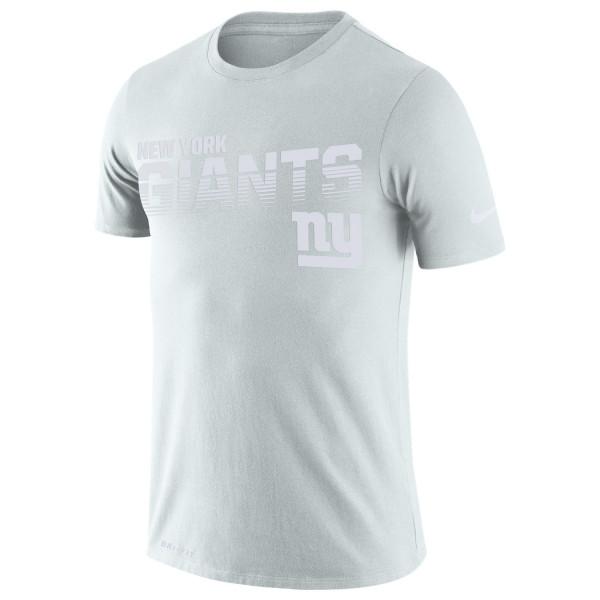 New York Giants 2019 NFL Sideline Platinum T-Shirt