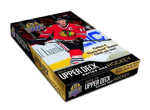 2014/15 Upper Deck Series 1 Hockey Hobby Box NHL