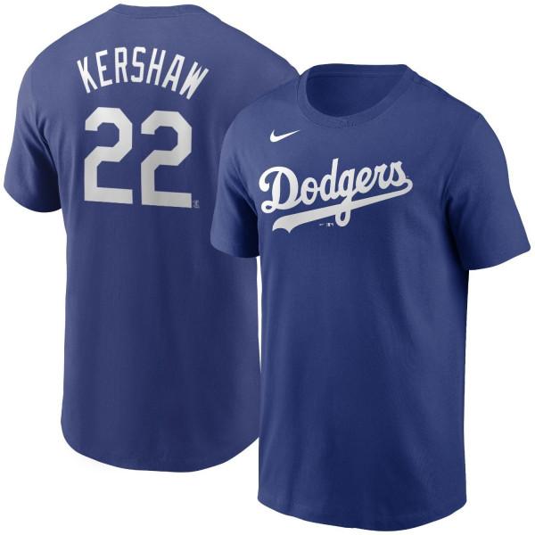 Clayton Kershaw #22 Los Angeles Dodgers Nike Player MLB T-Shirt