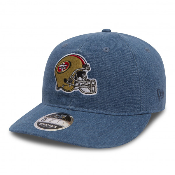 San Francisco 49ers Helmet Low Profile 9FIFTY Strapback NFL Cap