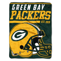 Green Bay Packers Super Plush NFL Decke
