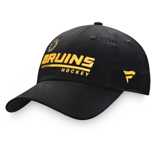 Boston Bruins 2020/21 NHL Authentic Pro Locker Room Fanatics Adjustable Cap