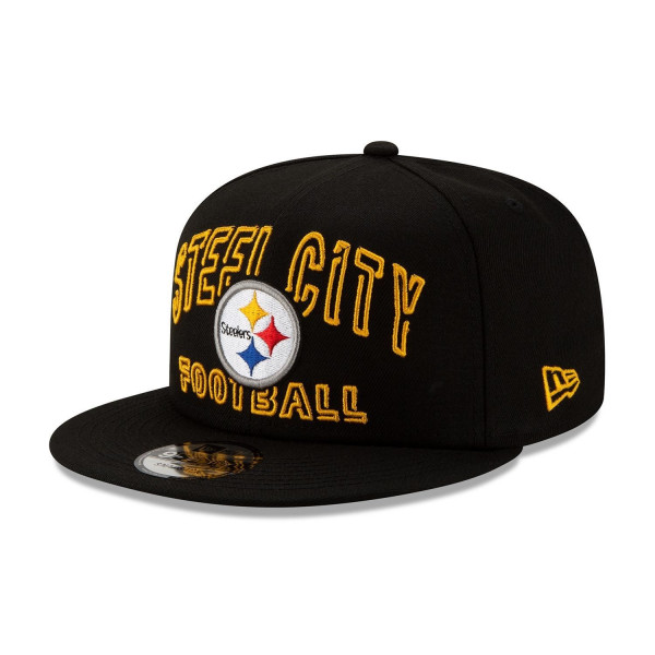 Pittsburgh Steelers 2020 NFL Draft New Era 9FIFTY Snapback Cap Alternate