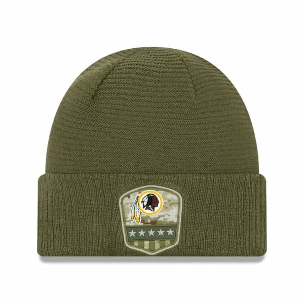 Washington Redskins 2019 On-Field Salute to Service NFL Beanie Wintermütze
