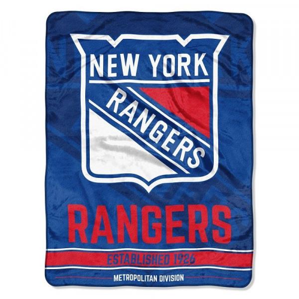 New York Rangers Super Plush NHL Decke