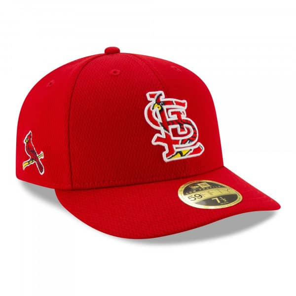 St. Louis Cardinals 2021 MLB Authentic Batting Practice Low Profile 59FIFTY Fitted Cap