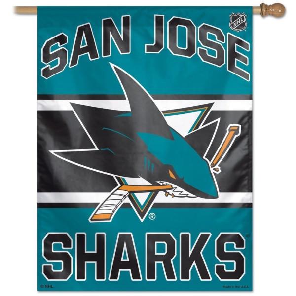 San Jose Sharks Eishockey NHL Fahne