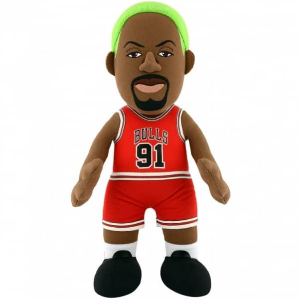 Dennis Rodman Chicago Bulls NBA Plüsch Figur (25 cm)