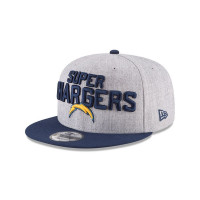 Los Angeles Chargers 2018 NFL Draft Snapback Cap