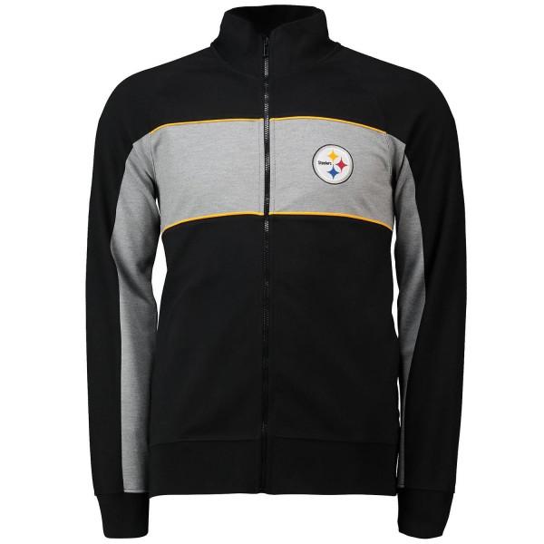 Pittsburgh Steelers Cut & Sew Full Zip NFL Track Jacket