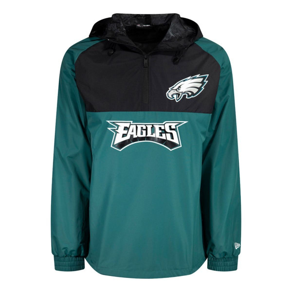 Philadelphia Eagles 2019 Color Block NFL Windbreaker Jacke
