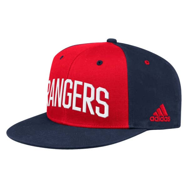 New York Rangers 2019/20 NHL Flat Brim Snapback Cap
