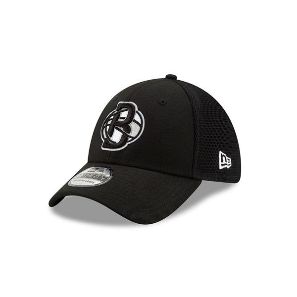 sports shoes 2e5eb dd5a9 New Era Brooklyn Nets 2019 NBA Back Half 39THIRTY Flex Cap   TAASS.com Fan  Shop