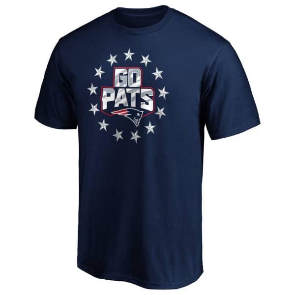 New England Patriots GO PATS NFL T-Shirt