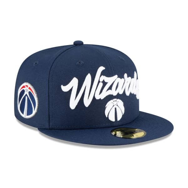 Washington Wizards Alternate Authentic 2020 NBA Draft New Era 59FIFTY Fitted Cap