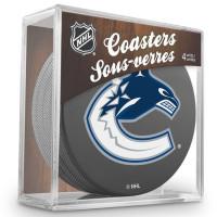 Vancouver Canucks NHL Eishockey Puck Untersetzer (4er Set)