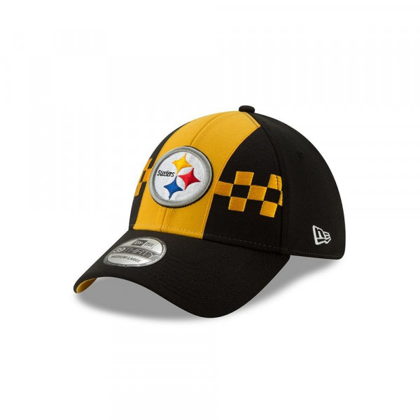 Pittsburgh Steelers 2019 NFL Draft On-Stage 39THIRTY Stretch Fit Cap