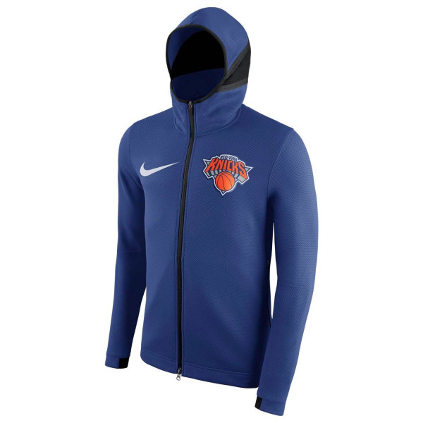 New York Knicks Showtime Performance NBA Full-Zip Hoodie