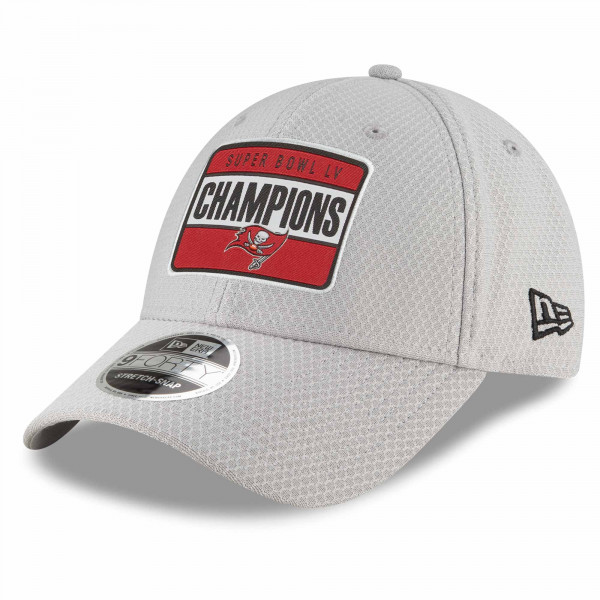 Tampa Bay Buccaneers Super Bowl LV Champions Parade Stretch-Snap 9FORTY NFL Cap