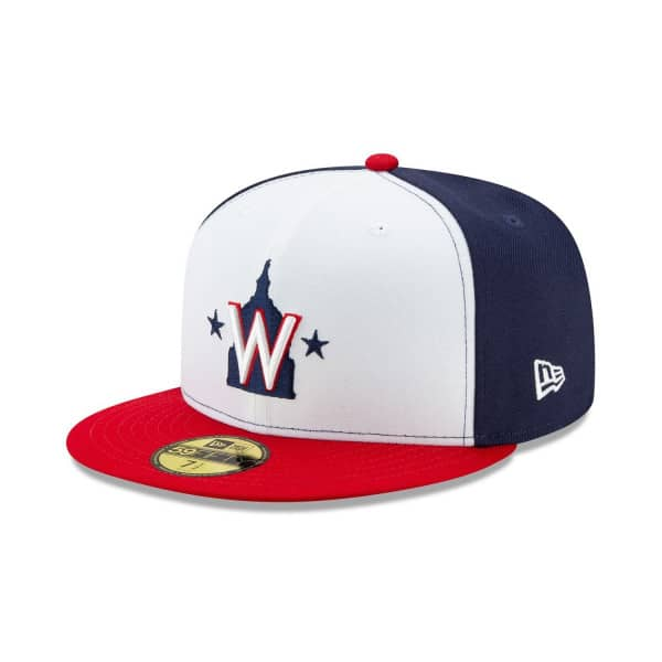Washington Nationals Authentic New Era 59FIFTY Fitted MLB Cap Alternate 2