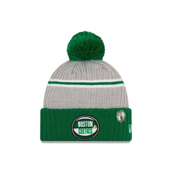 032c277a224e2a New Era Boston Celtics 2019 NBA Draft Knit Hat /w Pom Grey | TAASS.com Fan  Shop