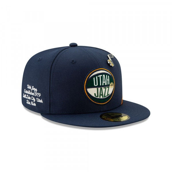 Utah Jazz 2019 NBA Draft 59FIFTY Fitted Cap