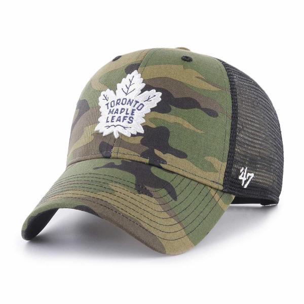 Toronto Maple Leafs Camo NHL Trucker Cap