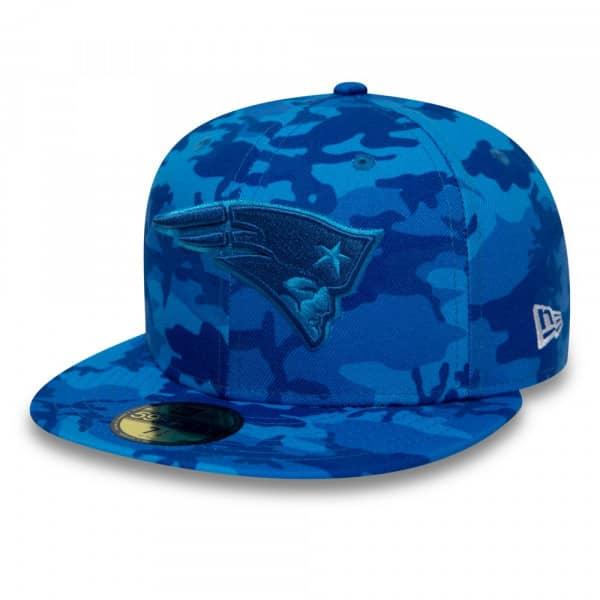 the best attitude bbfa5 cb8b8 New Era New England Patriots Blue Camo 59FIFTY Fitted NFL Cap   TAASS.com  Fan Shop
