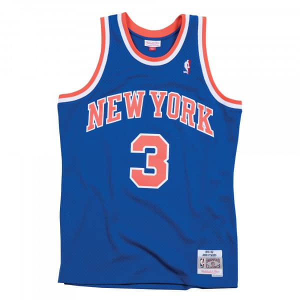 John Starks #3 New York Knicks 1991-92 Swingman NBA Trikot
