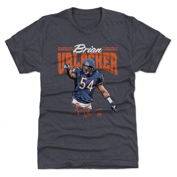 Brian Urlacher Chicago HOF NFL T-Shirt
