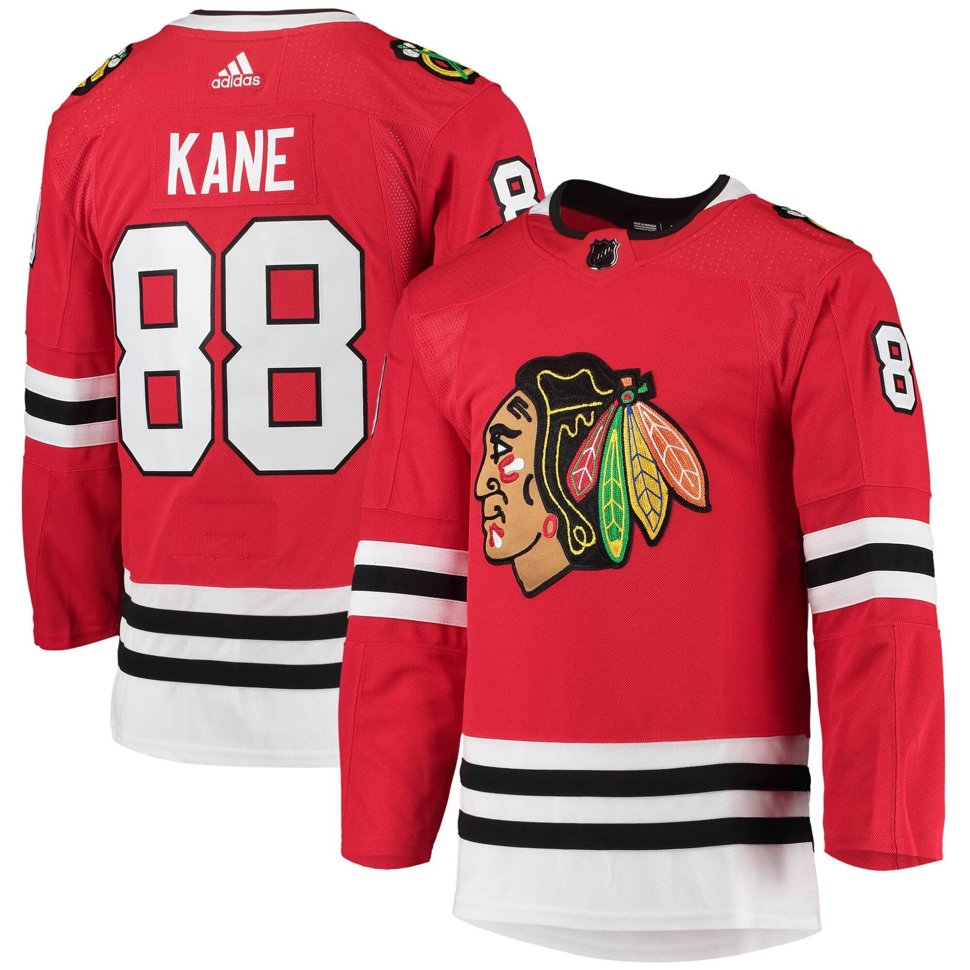 adidas Patrick Kane  88 Chicago Blackhawks Authentic Pro NHL Jersey Home  00034502e