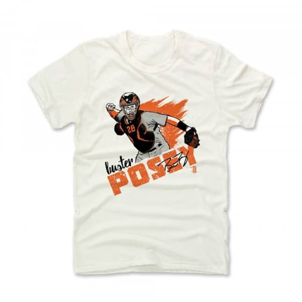 San Francisco Giants Buster Posey MLB T-Shirt Beige