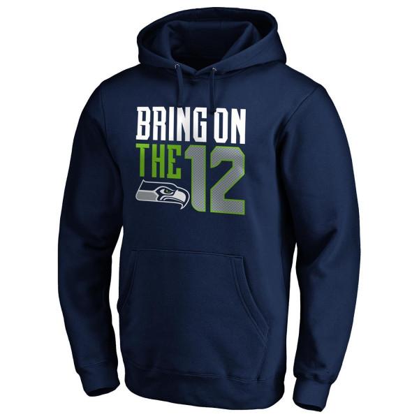 Seattle Seahawks Bring on the 12 NFL Hoodie
