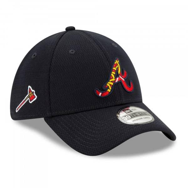 Atlanta Braves 2021 MLB Batting Practice New Era 39THIRTY Flex Cap