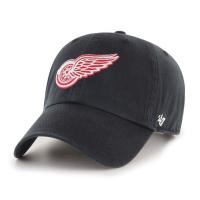 Detroit Red Wings Clean Up Adjustable NHL Cap Schwarz