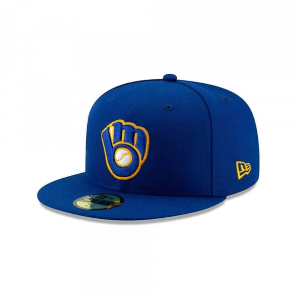 Milwaukee Brewers Authentic 59FIFTY Fitted MLB Cap Alternate