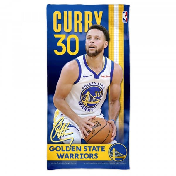Steph Curry Golden State Warriors NBA Strandtuch