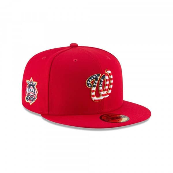 Washington Nationals 4th of July 2018 59FIFTY Fitted MLB Cap
